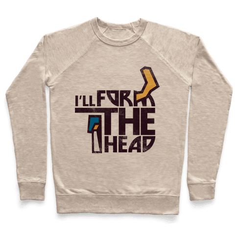 I'll Form the Head (vintage) Pullover