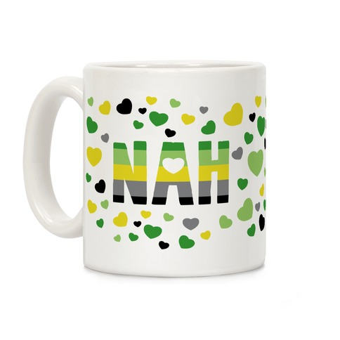 NAH- Aromantic Pride Coffee Mug