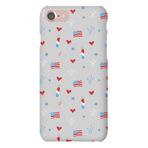 American Pride Pattern Phone Case