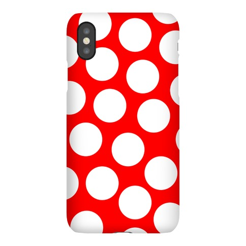 Red Polka Dot Case Phone Case