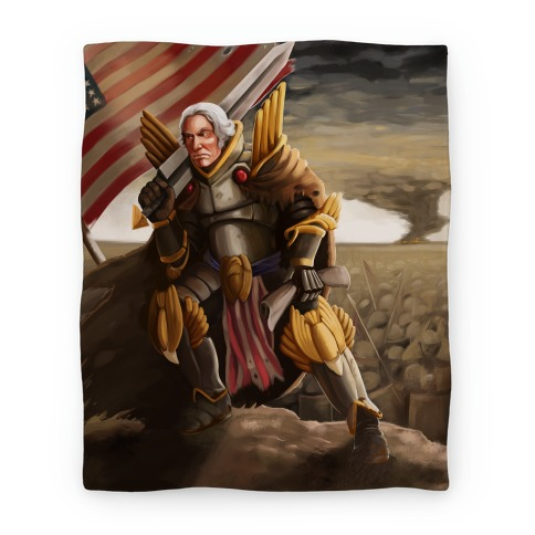 George Washington Paladin Blanket