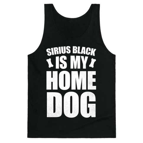 Sirius Black Is My Home Dog Tank Top