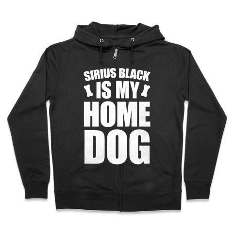 Sirius Black Is My Home Dog Zip Hoodie