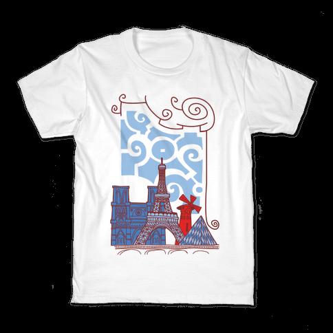 The City of Love Kids T-Shirt