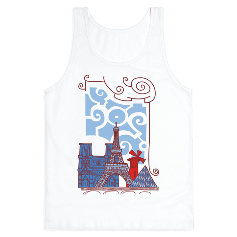 The City of Love Tank Top