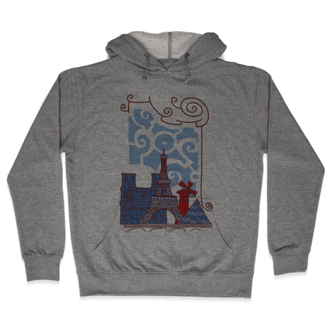 The City of Love Hooded Sweatshirt