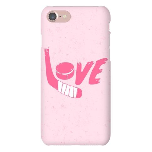 Love Hockey Phone Case