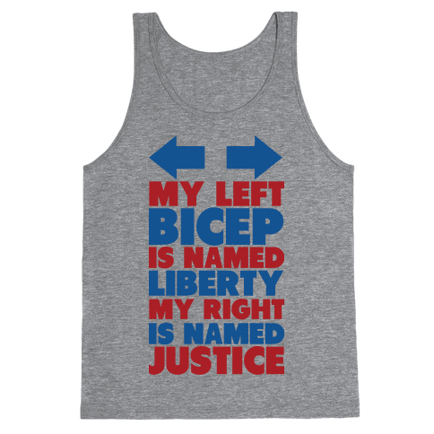 Liberty and Justice Tank Top