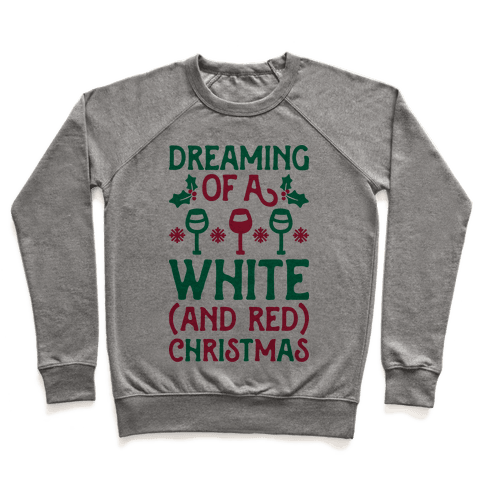 Dreaming Of A White (And Red) Christmas Pullover