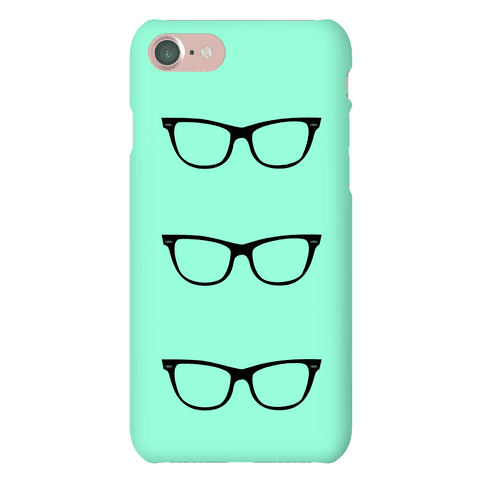 Mint Glasses Phone Case