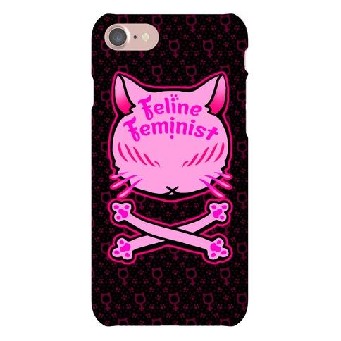 Feline Feminist Phone Case