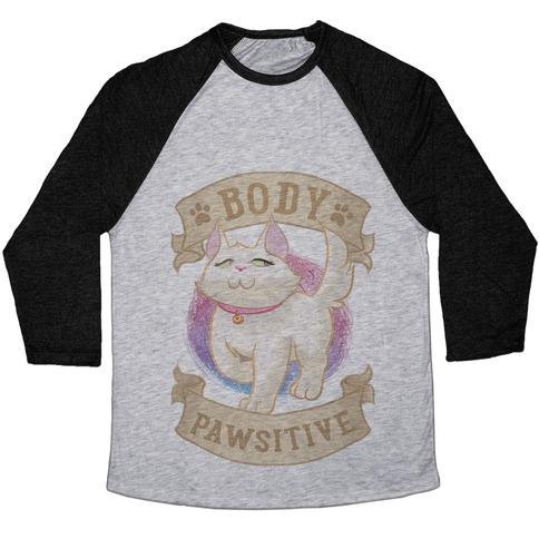 Body Pawsitive Baseball Tee