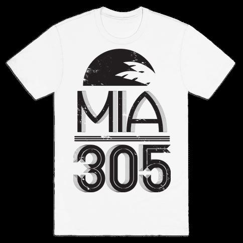 MIA 305 Mens T-Shirt