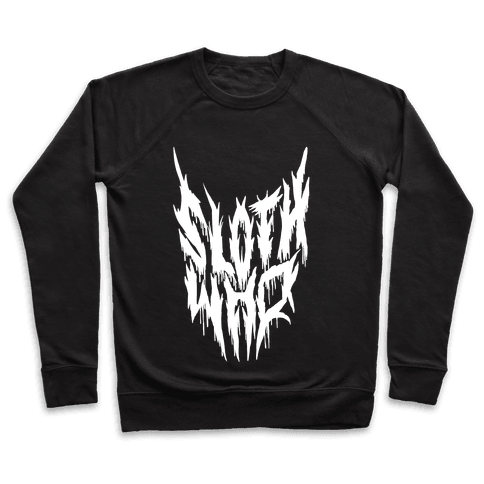 Sloth Who (Metal) Pullover