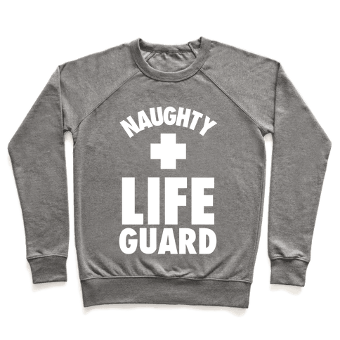 Naughty Life Guard Costume Pullover