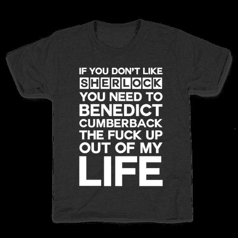 Don't Like Sherlock Kids T-Shirt