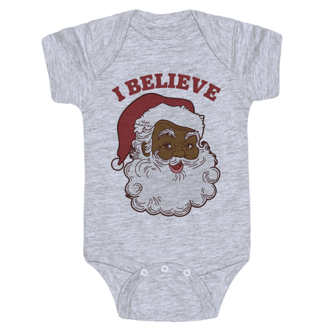 I Believe in Santa Claus Baby Onesy