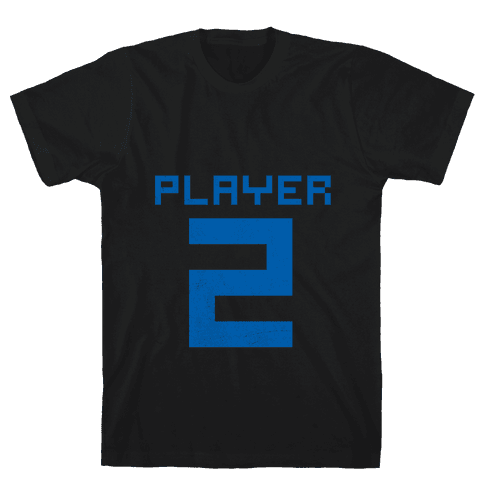 Player 2 Mens T-Shirt