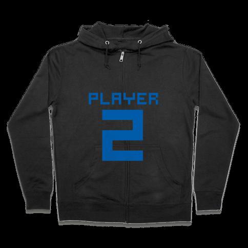 Player 2 Zip Hoodie