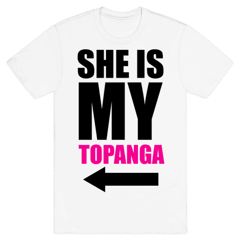 She is my Topanga Mens T-Shirt