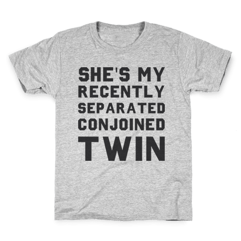 Conjoined Twin (Couples) Kids T-Shirt