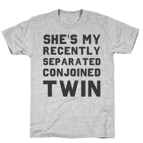 Conjoined Twin (Couples) T-Shirt