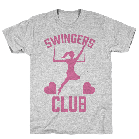 Trapeze Swingers Club Mens T-Shirt