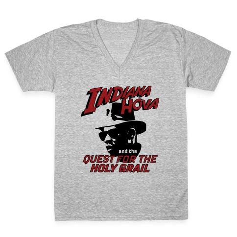 Indiana Hova V-Neck Tee Shirt
