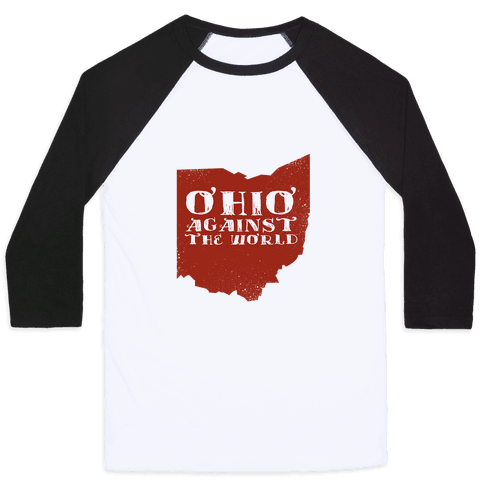 Ohio against the World Baseball Tee