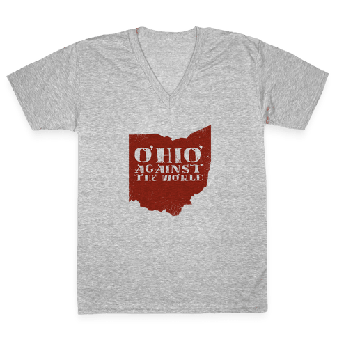 Ohio against the World V-Neck Tee Shirt
