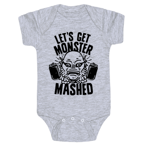 Let's Get Monster Mashed Baby Onesy