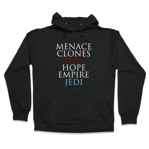 Six Wars Hooded Sweatshirt