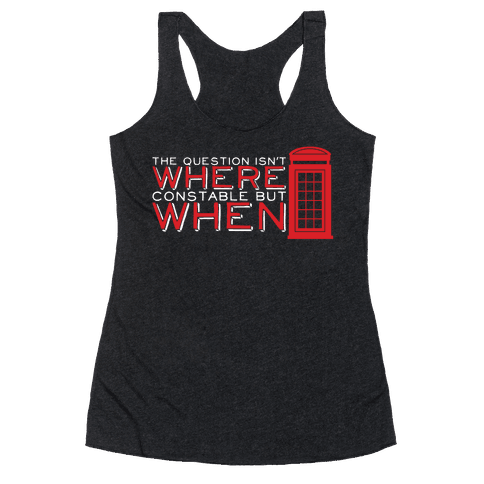 The Question Racerback Tank Top
