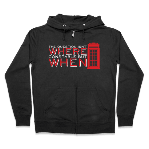 The Question Zip Hoodie