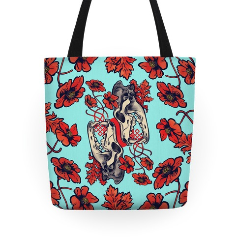 Sleep And The Coyote Tote