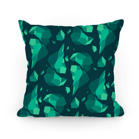 Broken Quartz Mountain Pillow