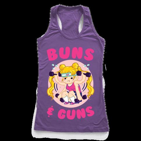 Buns & Guns Racerback Tank Top