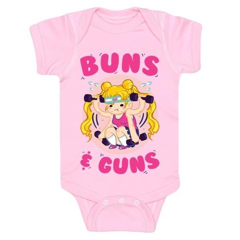 Buns & Guns Baby Onesy