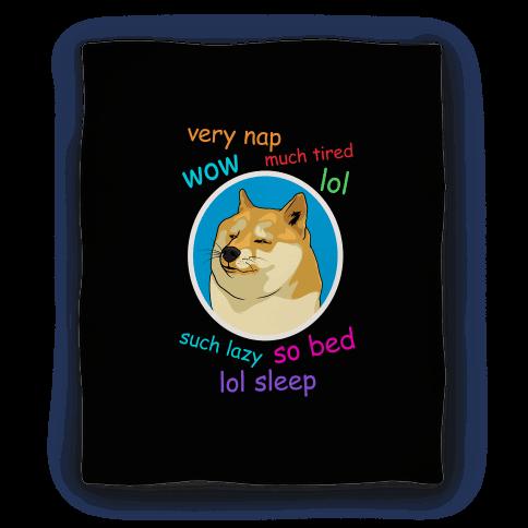 Nap Doge Blanket