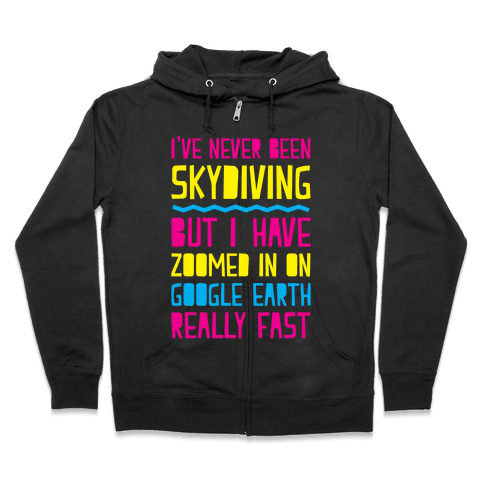 Skydiving Zip Hoodie
