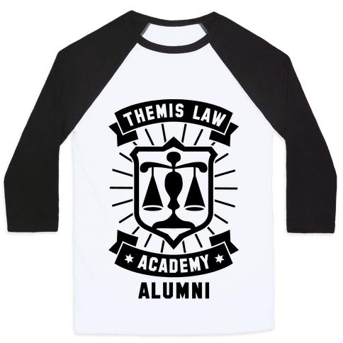 Themis Law Academy Alumni Baseball Tee