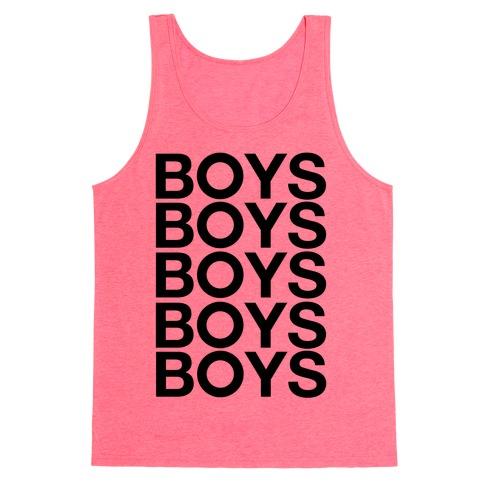 Boys Boys Boys Tank Top