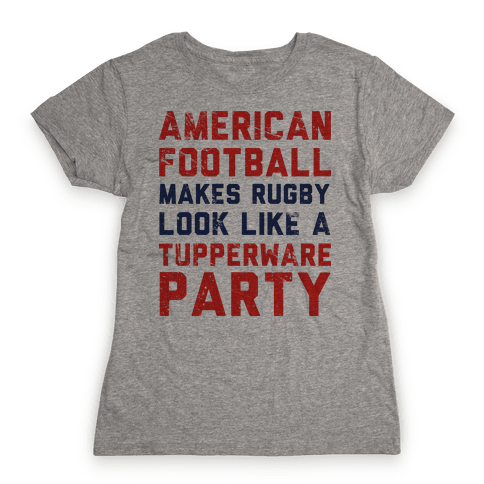 American Football Womens T-Shirt
