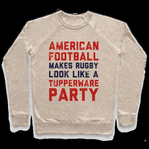 American Football Pullover