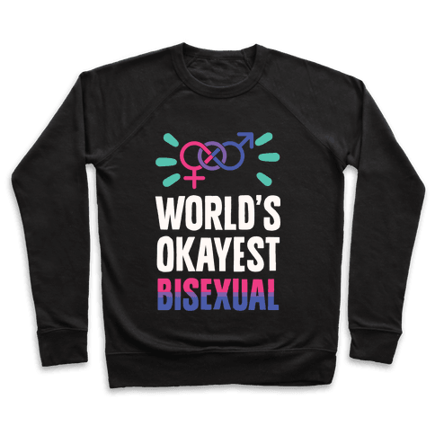 World's Okayest Bisexual Pullover