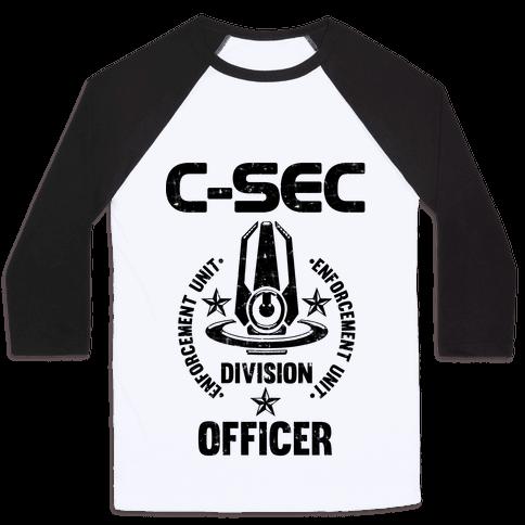 C-SEC Enforcement Unit Baseball Tee