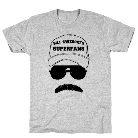 Bill Swerski's Superfans Mens T-Shirt