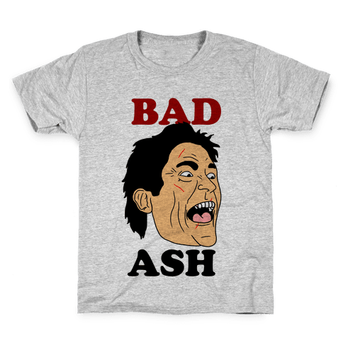 Bad Ash Couples Shirt Kids T-Shirt