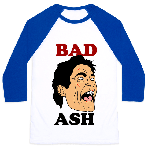 Bad Ash Couples Shirt Baseball Tee