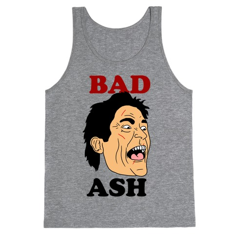 Bad Ash Couples Shirt Tank Top